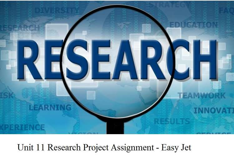 Unit 11 Research Project Assignment - Easy Jet