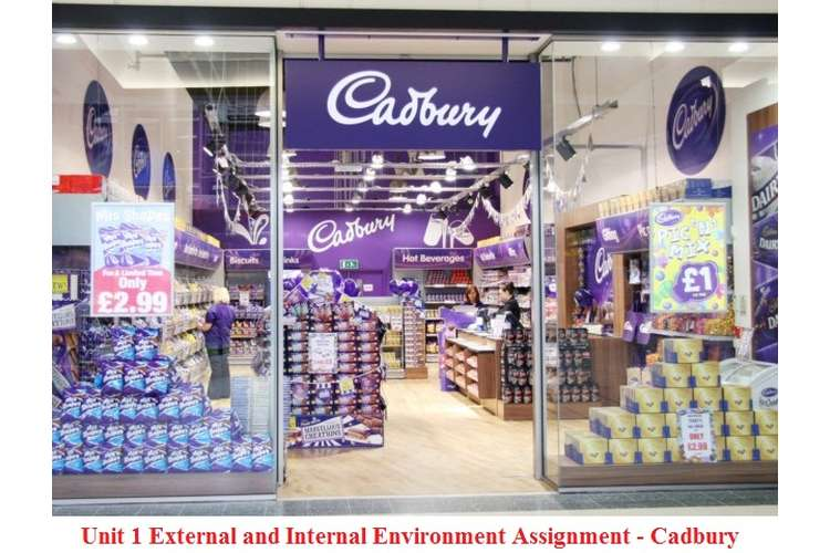 Unit 1 External and Internal Environment Assignment – Cadbury