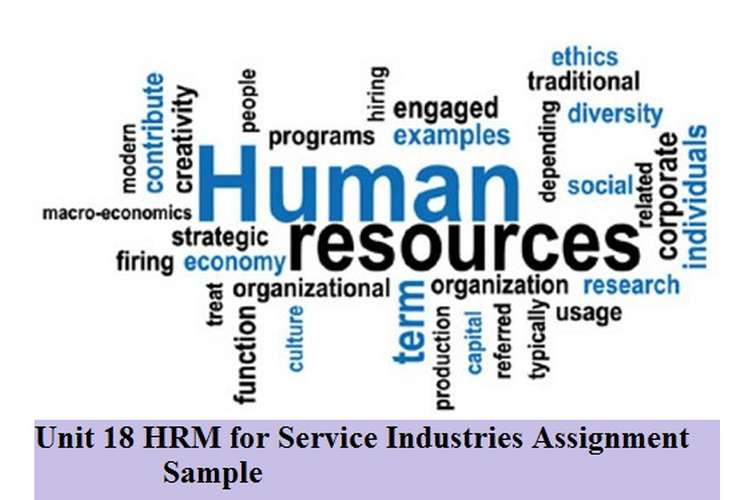 HRM for Service Industries Assignment Sample