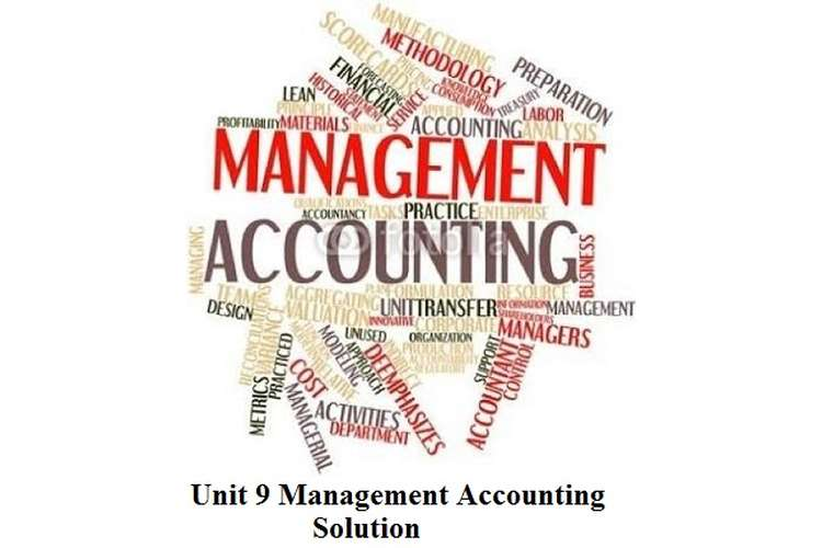 Management Accounting Solution