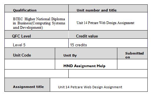 unit 14 assignment This assignment is made up of 4 tasks which, when successfully completed, are designed to give you sufficient evidence to meet the pass (p), merit (m) and distinction (d) grading criteria for the unit.