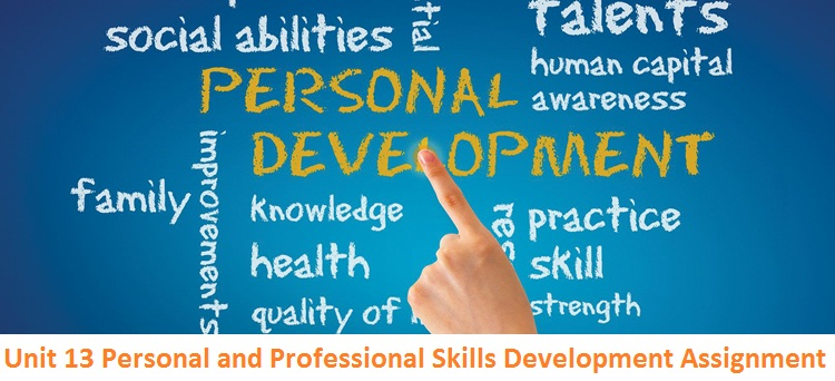 assignment highlighing personal and professional development skills The following 'skills questions',  discussed and agreed an extension for the most pressing assignment with my personal tutor.