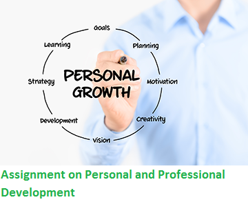 personal and professional development assignment