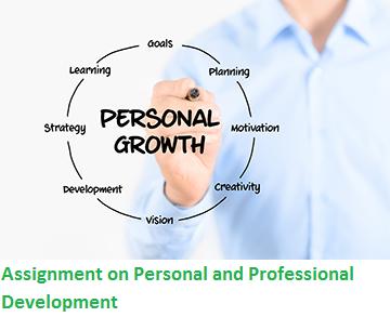 Assignment Personal Professional Development Locus