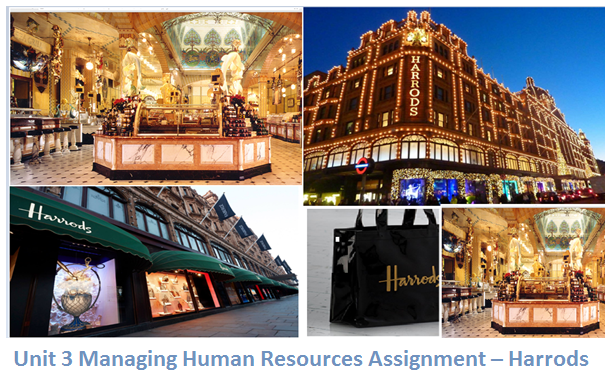 human resource management in the context of harrods essay 1 answer to what are the four broad categories of development methods why  human resource management  four broad categories of development methods.