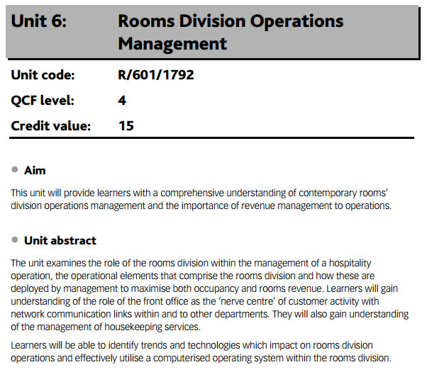 rooms division operation management Room division assignment help (0 legal and statutory requirements applicable to rooms division operations in the uk the room division and operation management in.