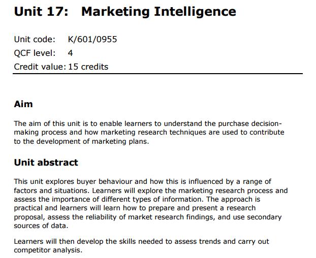 marketing inteligence assignment princess
