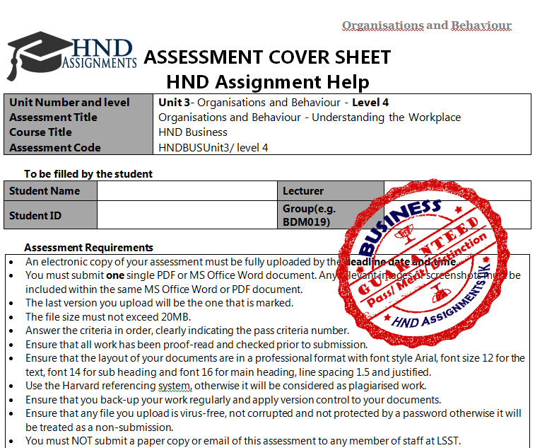 unit 4 assignment brief 3 Read this essay on unit 4 assignment brief come browse our large digital warehouse of free sample essays get the knowledge you need in order to pass your classes and more.