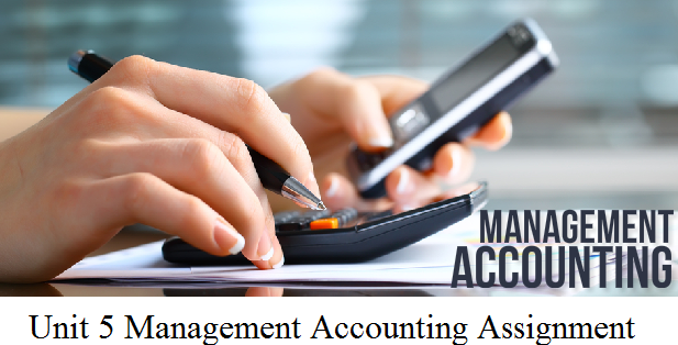 managerial accounting group assignment