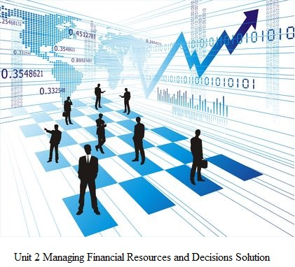 Sample on Managing Financial Resources & Decision Making