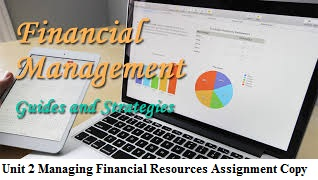 unit 2 managing resources Unit 2: managing financial resources and decisions assessment 2: financial planning 21 - analyse the costs of different sources of finance 22 - explain the.