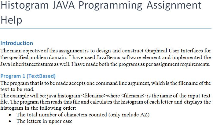 help with java programming assignment Do my java homework, java assignment help pay someone to write java program need java coding help get java homework help get java homework assignments.
