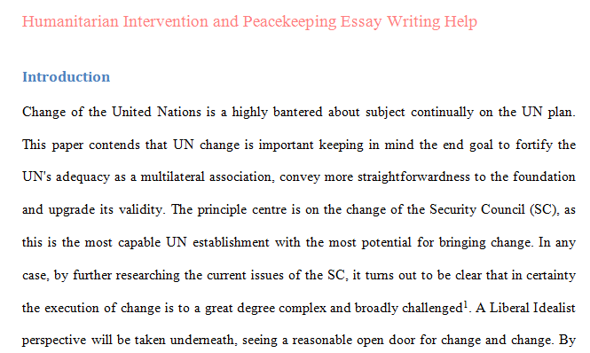 humanitarian compare contrast essay Essays - largest database of quality sample essays and research papers on comparison contrast essay.