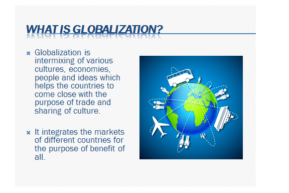 Conflicts of globalization and restructuring of