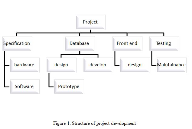 Structure of project development