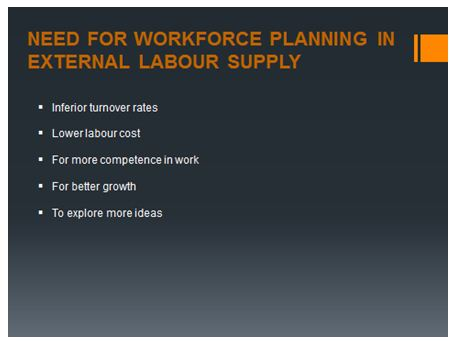 workforce planning and your completed staffing action plan