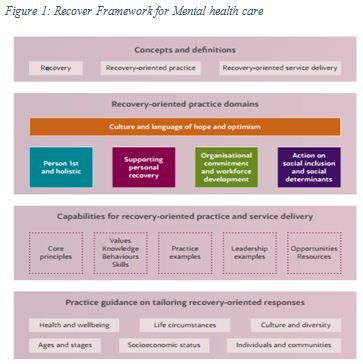 Recover Framework for Mental health care