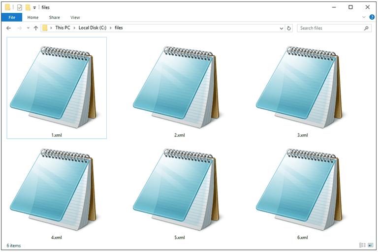 xml files